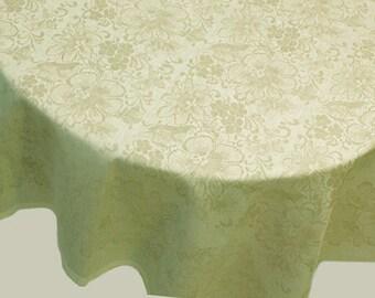 Tablecloth Linen Flax Cotton Home Textile Kitchen Decor Fabric