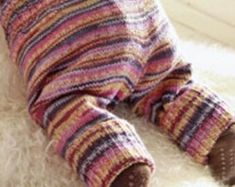 Baby pants, knit baby leggings, baby clothing, newborn pants