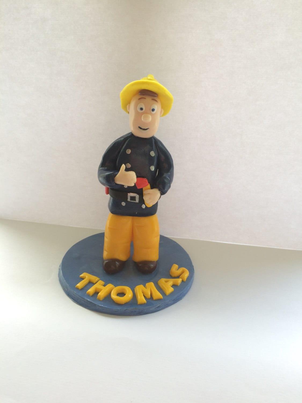 Fireman Sam Cake Topper