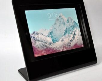 iPad Security Acrylic Swivel Desktop Stand for Kiosk, POS, Store Display, Trade Show