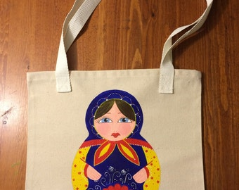 Handmade Russian Nesting Doll bag