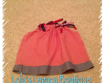 Ready to Ship! - The Melissa Pillowcase Dress - SIZE 9 MONTHS
