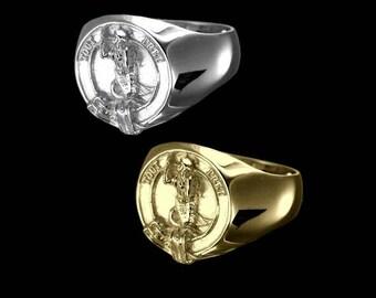 Clan Murray Crest Men's Signet Ring
