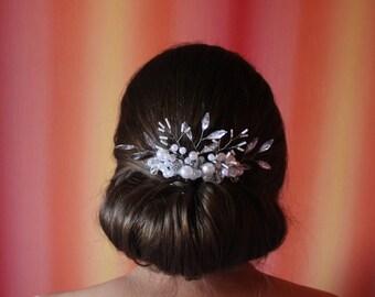 SALE Bridal Comb Bridal Head Piece Bridal Hair Piece Bridal Hair Comb Wedding Hair Comb Bridal HairComb Bridal Comb