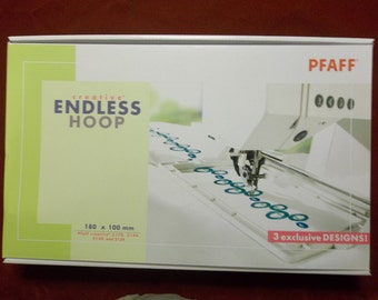 Pfaff Creative ENDLESS HOOPS - 3 Exclusive Designs!
