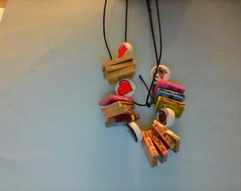 Your personalized book necklace