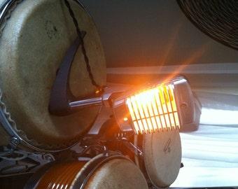 Vintage Shure 51 Microphone Lamp