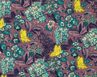 Amelies Attic Sweet Breeze  Free Spirit Floral  Cotton Print Quilt Fabric