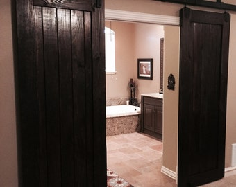 "PLANK STYLE......Custom Sliding Barn Doors. Made to fit your style!    ""Interior / Exterior Barn Doors""  TBS Barn Doors"