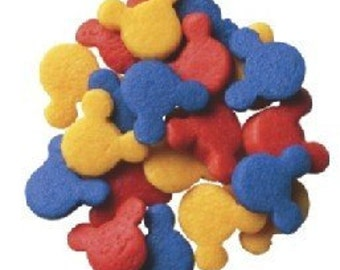 Mickey Mouse® - Red, Yellow, Blue Edible Sprinkes - 8 oz