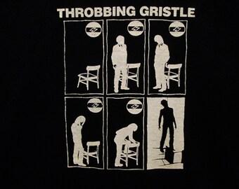 Throbbing Gristle T-Shirt --FREE SHIPPING~~Coil Chris & Cosey Psychic TV Clockdva