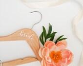 White Wedding Day Hanger - Schwalbach
