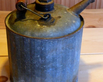 Superb antique Tin watering can