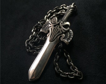 925 Sterling Silver Excalibur Necklace