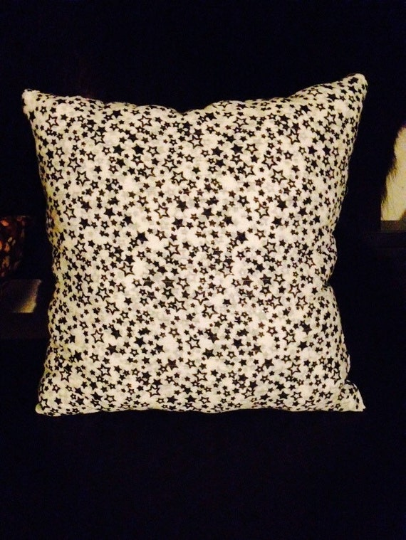 Items similar to Stary stary white throw pillow on Etsy