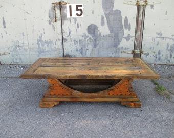 Reclaimed Wood Coffee Table Barn wood Rustic