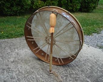 16'' Shaman Drum with stick