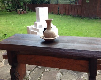 Historic oak table