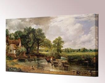 Hay Wain John Constable Canvas Wall Art Print Picture Framed Ready Hang Decor