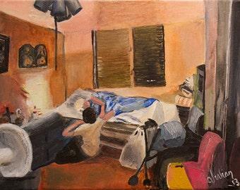 "Puerto Rican Art - Giclee Art Print-  'Bendiciones"""