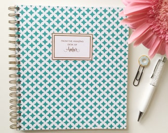 Personalized Power Quote Notebook - Bonus!! Free Shipping