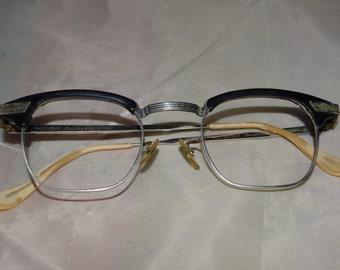 Bausch & Lomb Men's Vintage Horn Rim Glasses