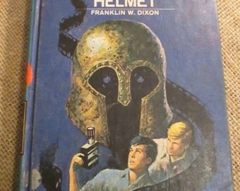Vintage 1973 The Hardy Boys #52 The Shattered Helmet by Franklin W. Dixon, Childrens Book, Mystery Book, Book Decor