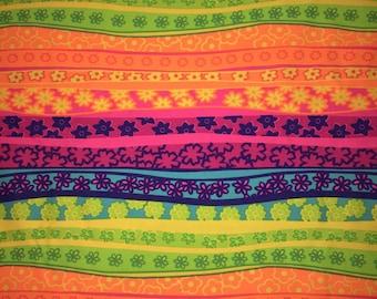 Neon Rainbow Non Slip Headband
