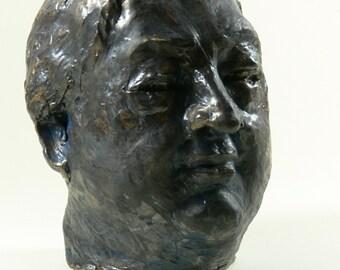 Portrait bust dieter pfaff