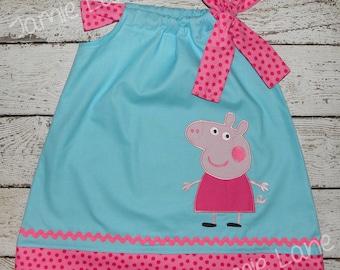 Peppa Pig Pillowcase Style Dress