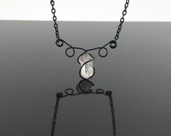 Black Amethyst Necklace