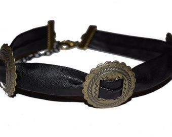 Concho Choker Necklace