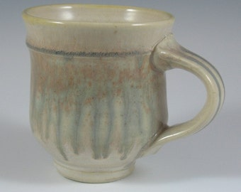 Ash-glazed Porcelain mug
