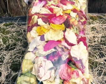 Assorted Dried Rose Petals