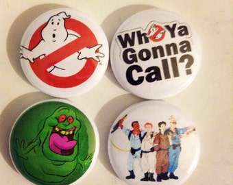 GhostBusters Pin button 1""