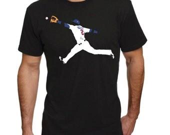 Brian Dozier diving grab-Minnesota Twins-Shirt