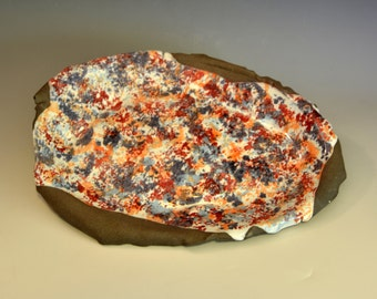 Ella - glazed ceramic platter