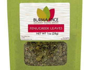 Fenugreek Leaves Bag, 1oz.