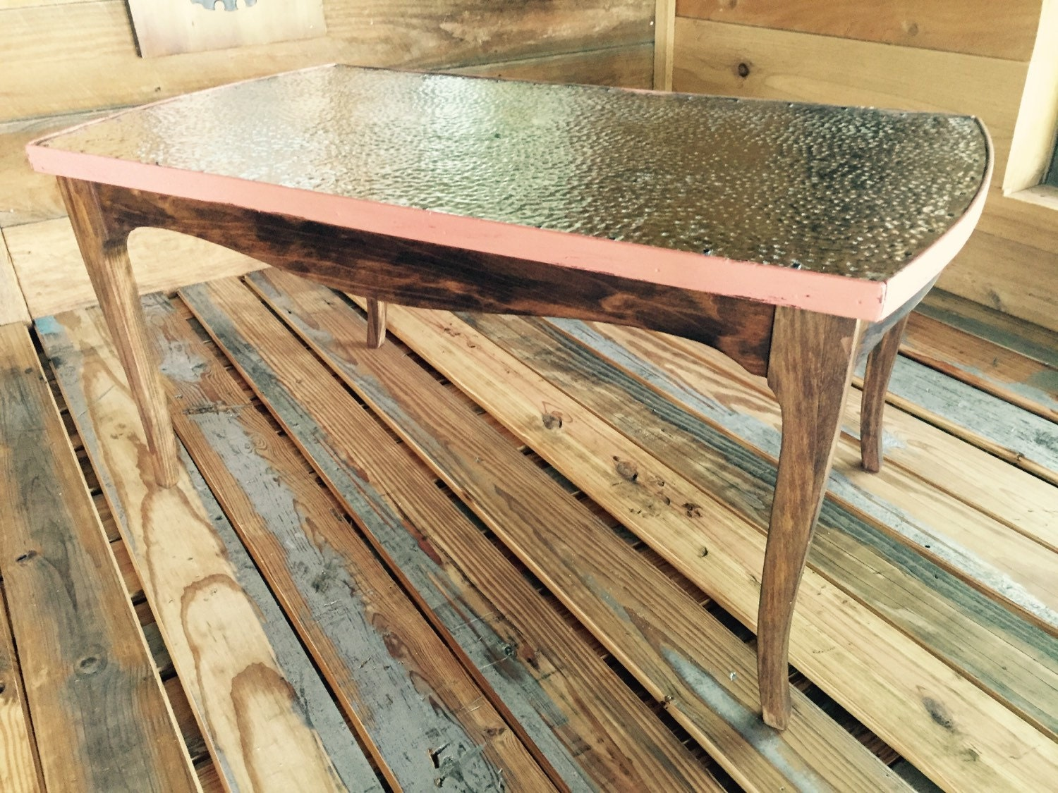 Hammered Metal Coffee Table Haute Juice