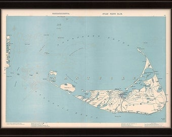 Map of Nantucket 1904