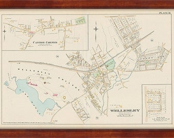 Wellesley Village 1888