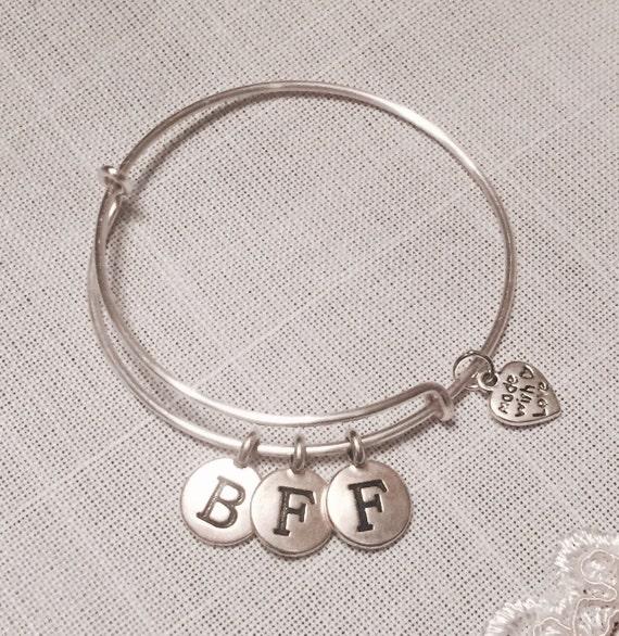 best friends forever charm bracelet by absolutelycutethings