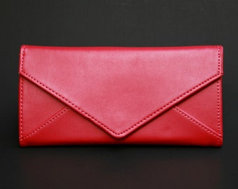 Womens Wallet, Womans Wallet, Leather Wallet, Leather Purse, Red Wallet, Red Purse, Red Leather Wallet, Red Leather Purse.
