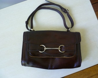 1970s the luggage leather bag