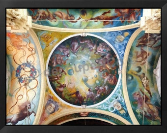 Fresco ceiling Czech Republic