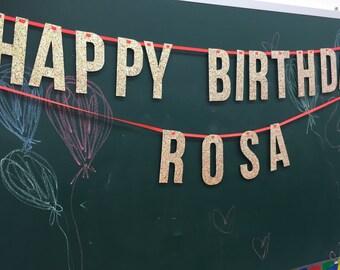 happy birthday banner NAME