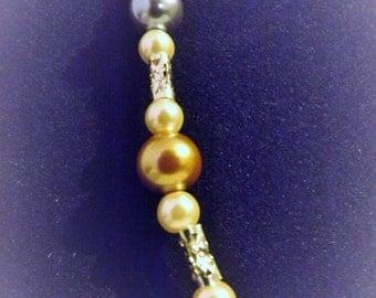 """20"""" Multi-Colored Pearl Necklace"""