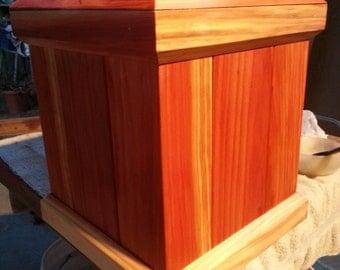 Large Redwood Planter 15''X13''