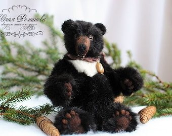 SOLD realistic Teddy Bear OOAK Himalayan bear Macuta