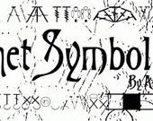 Crochet Symbol Font